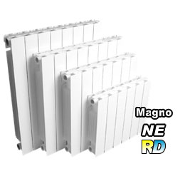 Injected aluminum radiators